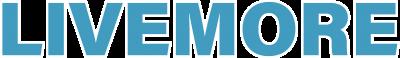 LIVEMORE 文字ロゴ